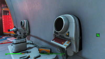 Has this gamer found Fallout 4's mysterious terminal? / photo credit: http://steamcommunity.com/id/LavonTB/screenshots/?appid=377160