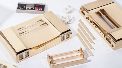 For $5,000 you can own a 24-Karat gold NES