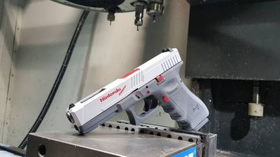 Sorry the Duck Hunt inspired 'Nintendo Glock' won't be entering mass production