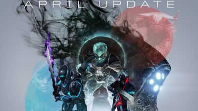 Destiny: The Taken King's April Update file size, release time detailed
