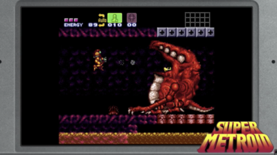 eShop SNES update brings Super Metroid and more to New 3DS