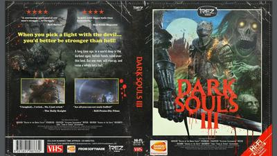Dark Souls 3 '80s style VHS cover April Fools joke now available to download