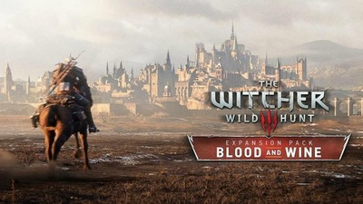 The Witcher 3: Blood and Wine expansion box art looks amazing