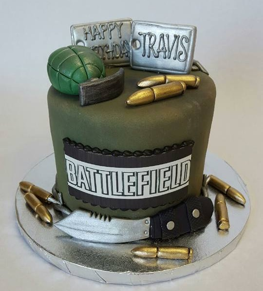 See 6 EA franchises reimagined as cakes