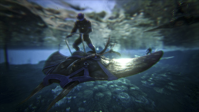 Rideable Direbears and Manta Rays are heading to ARK: Survival Evolved