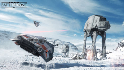 Players stats say Star Wars: Battlefront is not as popular as Battlefield 4