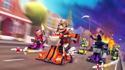 Quirky kart racer, Coffin Dodgers, hitting consoles in May