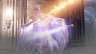 This is probably the most badass Dark Souls 3 Pontiff Sulyvahn fight we've seen