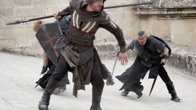 The new Assassin's Creed trailer gives us Michael Fassbender at his most epic
