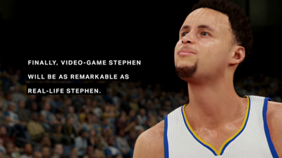 Steph Curry will receive max ratings boost in NBA 2K16 to reflect MVP status / photo credit: https://www.youtube.com/watch?v=e_a2IujOvrw&feature=youtu.be