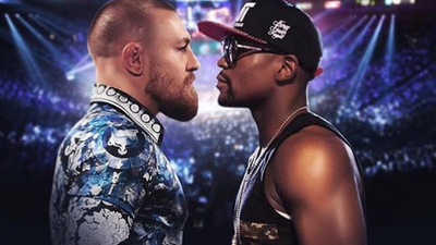 Conor McCregor collides with Floyd Mayweather in WWE 2K16