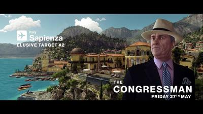 The Congressman is Hitman's next elusive target