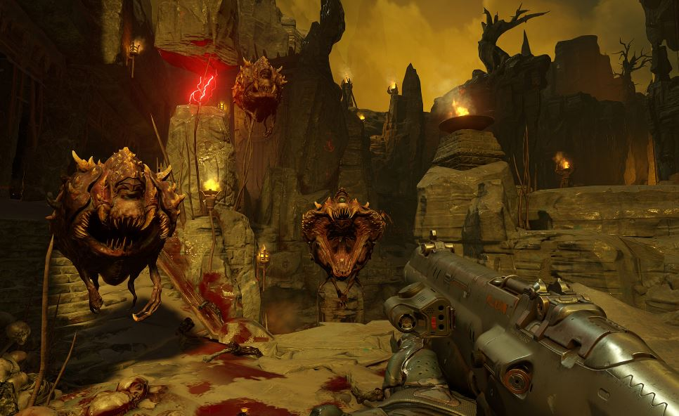 Review: DOOM is a troped out blast from the past in all the right ways