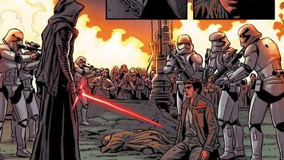 Here's your first look at the Star Wars: The Force Awakens comic book adaptation