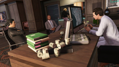 Explore the worlds of 'Finance & Felony' in GTA V Online's latest update / photo credit: Rockstar
