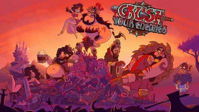 Crush Your Enemies, a cross-play RTS for PC, iOS, and Android is coming soon