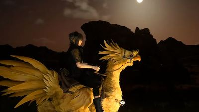 Behold glorious Chocobo gameplay in Final Fantasy 15