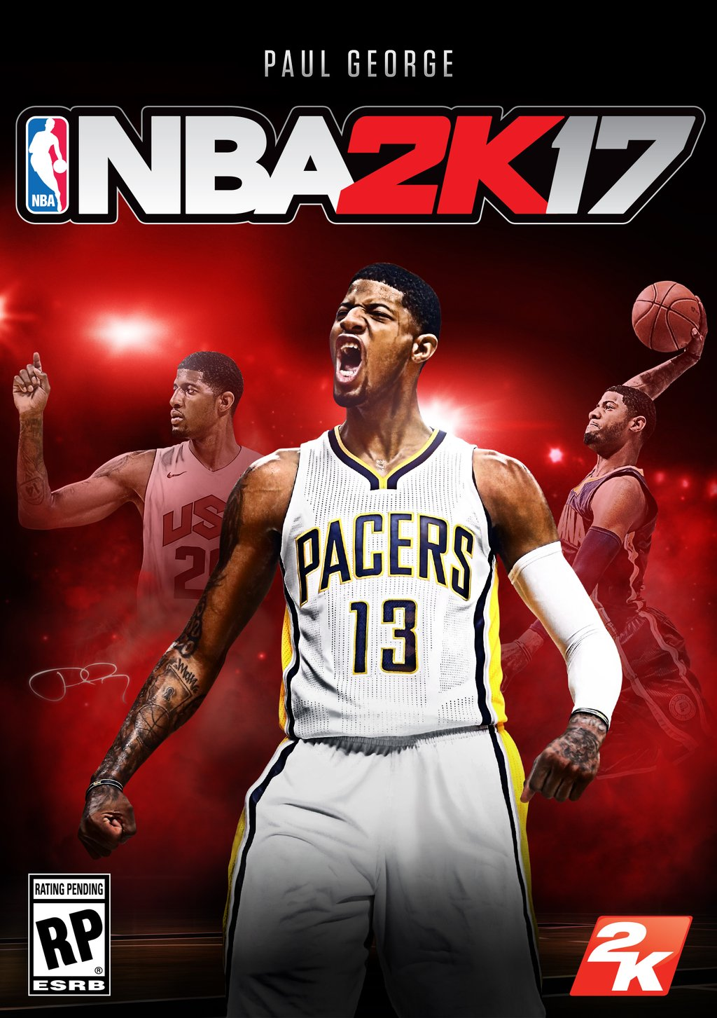 NBA 2K17 cover star is Paul George, game launches in September