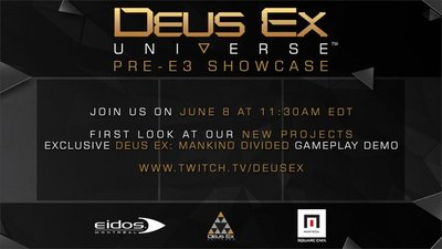Deus Ex information coming before E3