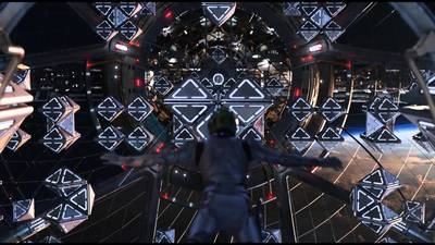 Someone recreated the Ender's Game zero gravity battle room in Halo 5, it's playable and awesome