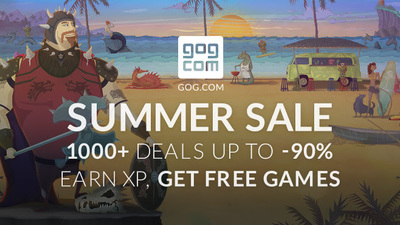 GOG.com's 2016 Summer Sale is officially on