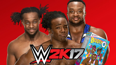 The New Day want to be WWE 2K17 cover stars