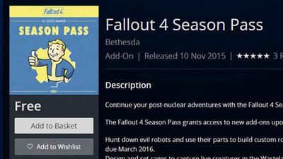 If you took advantage of the free Fallout 4 mistake, expect your license to be revoked