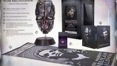 Dishonored 2 collector edition revealed, up for pre-order right now
