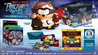 E3 2016: South Park Fractured but Whole collector's edition revealed, collectible figurines sold separately