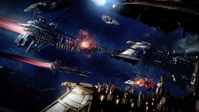 Sci-Fi RTS, Battlefleet Gothic: Armada releases its Space Marines trailer