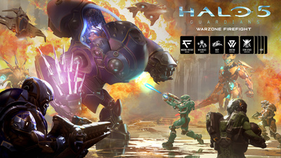 Halo 5 Guardians Warzone Firefight releases next week