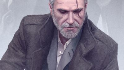 Here's what The Witcher would look like if it were a crime noir