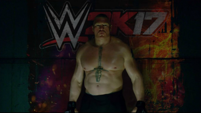 Brock Lesnar is the new face of WWE 2K17 / WWE 2K