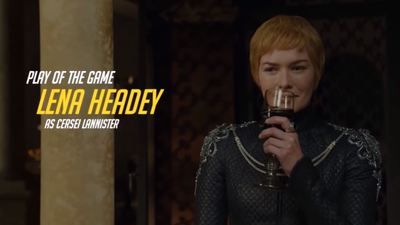 The pivotal scene from Game of Thrones' season finale was made into an Overwatch 'Play of the Game'