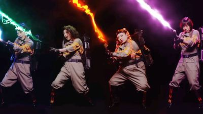 Sony Pictures Japan has released a J-Pop version of 'Ghostbusters'
