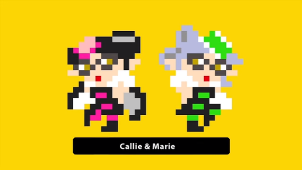 Super Mario Maker Callie and Marie costumes release next week.