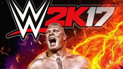 Why was Brock Lesnar selected to be WWE 2K17's cover star? / photo credit: WWE.com