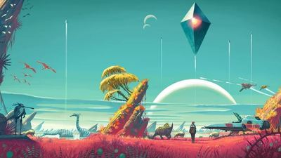 It looks like something is happening for No Man's Sky dev Hello Games