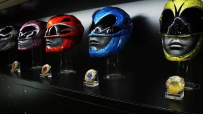 SDCC 2016: Lionsgate unveils an up-close look at the new Power Rangers helmets.