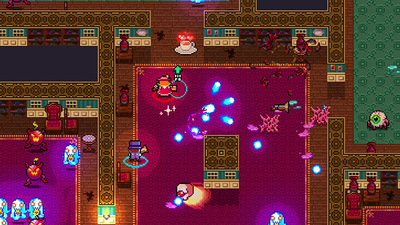 Frantic co-op twin-stick shooter, Monsters and Monocles coming to Steam Early Access