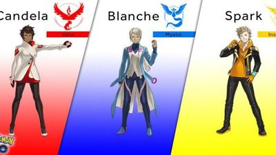 Pokemon GO team leaders revealed, everyone still hates Team Instinct