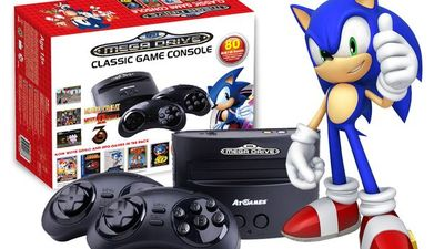 Sega's Mega Drive is back and it's mini, but there's a catch