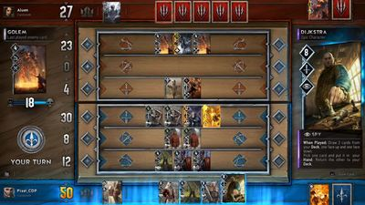 Gwent: The Witcher Card Game will be publicly available to play at Gamescom 2016