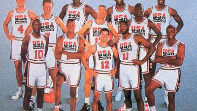 NBA 2K17 features the original 1992 Dream Team and Coach K