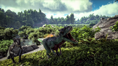 ARK: Survival Evolved is free to play this weekend on Steam to celebrate new content drop