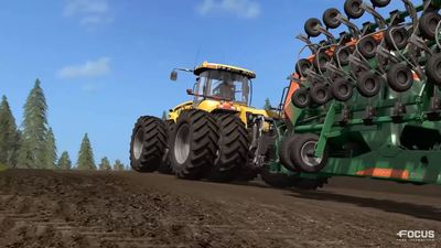 Farming Simulator 17 reveals its first gameplay trailer