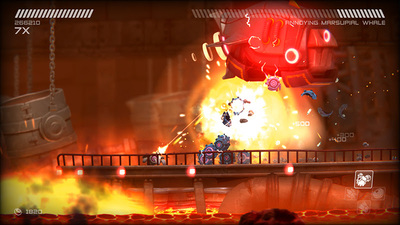 360-degree shooter/platformer, RIVE launches its character trailer