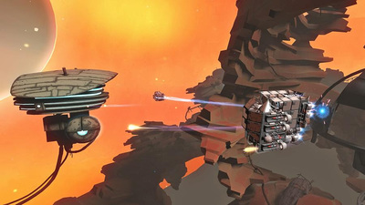 Space Trash Combat Sim, Galactic Junk League is available to play for free in Open Alpha