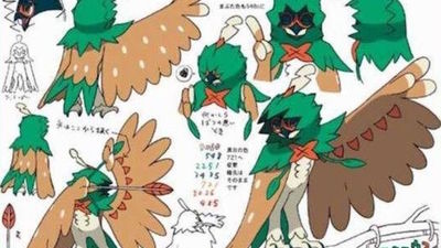Pokémon Sun and Moon Starter Evolutions Leak