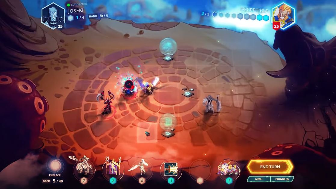 Steam Games For Ps4 : Free to play pixel card strategy game duelyst heading